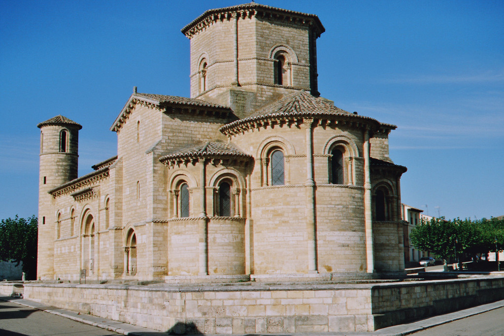San Martín de Frómista, Chorpartie