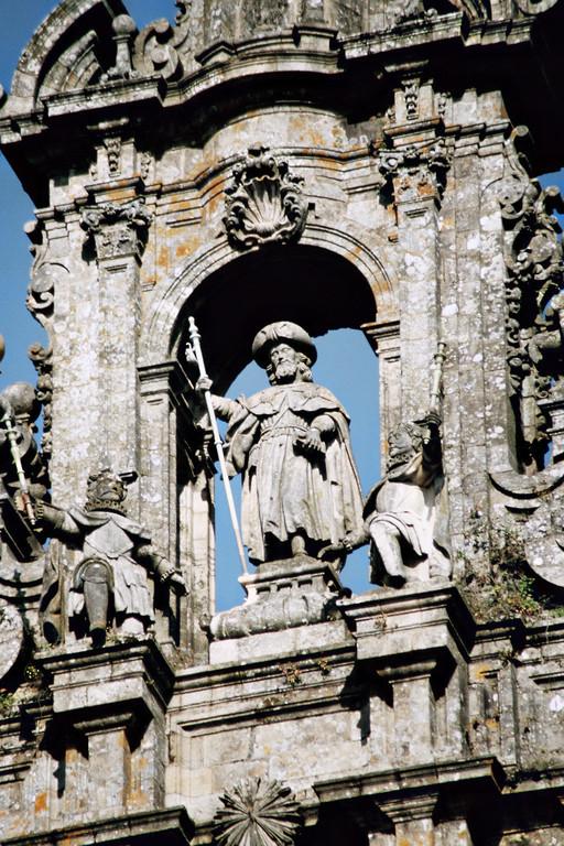 Santiago de Compostela, Kathedrale, Hl. Jakobus als Pilger