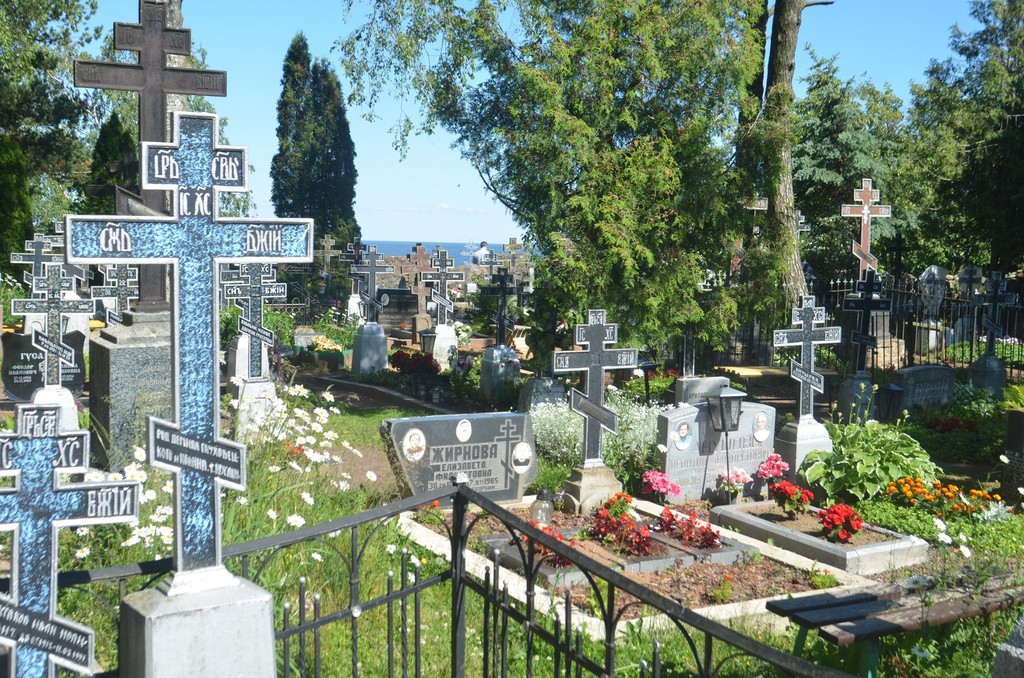 Kallaste am Peipussee, Russisch-orthodoxer Friedhof