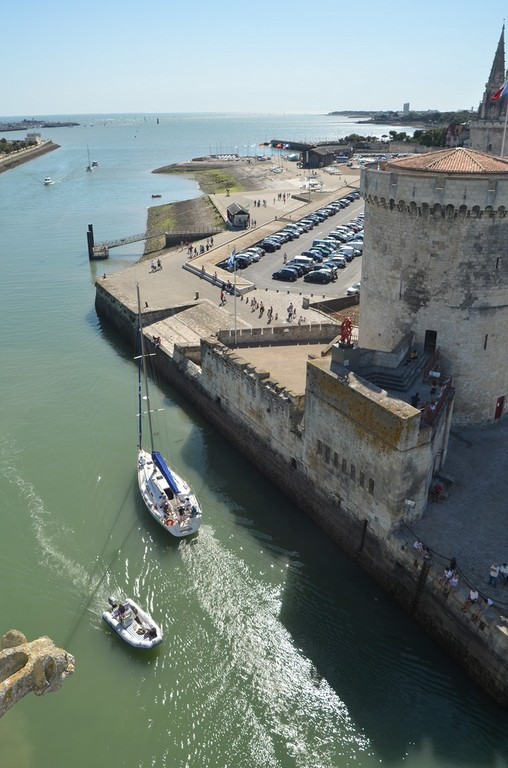 La Rochelle, Meerseite