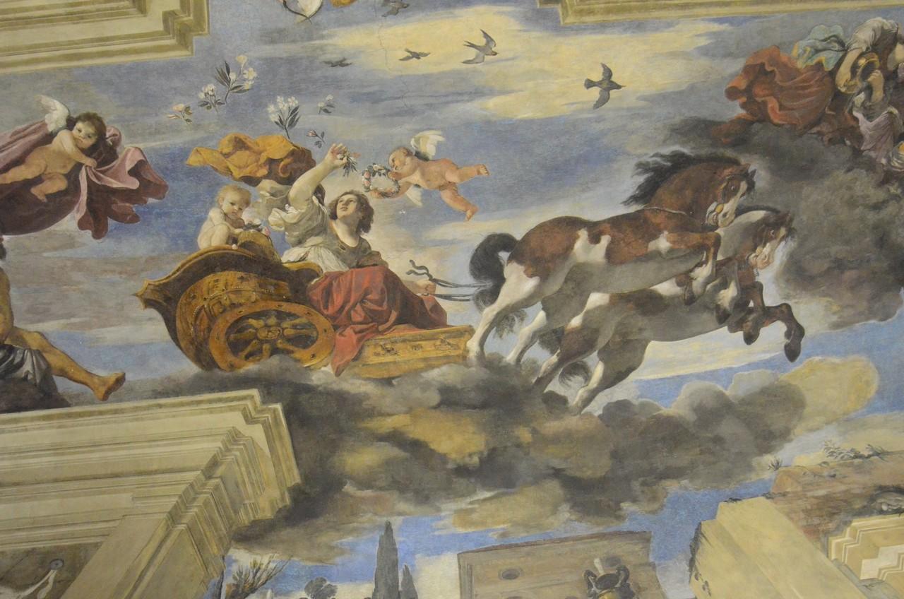 Guercino, Aurora (Deckenfresko in der Villa Ludovisi)