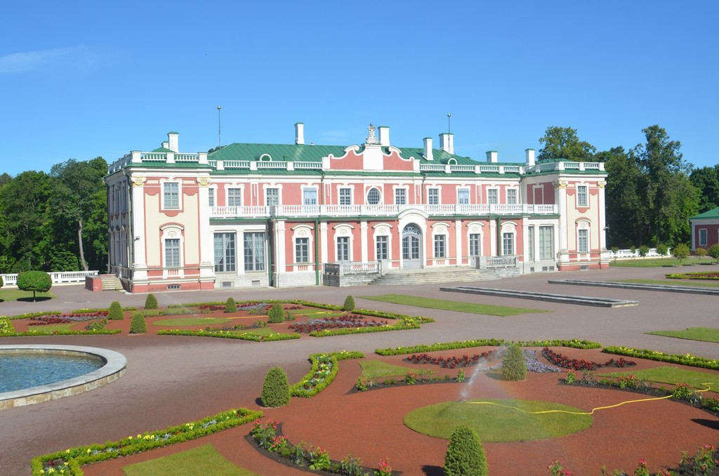 Kadriorg/Katharinental, Sommerresidenz Zar Peters des Großen (erbaut ab 1718, Architekt: Nicola Michetti)