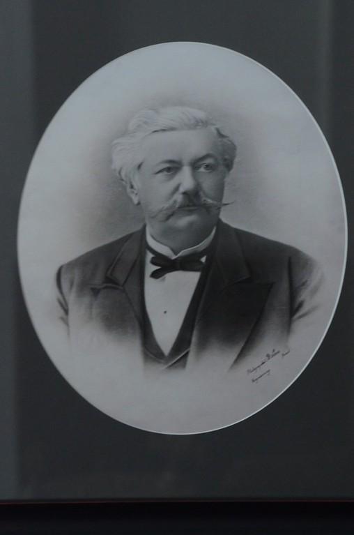 Alexander Freiherr von der Pahlen (1819-1895), Gutsherr zu Palmse