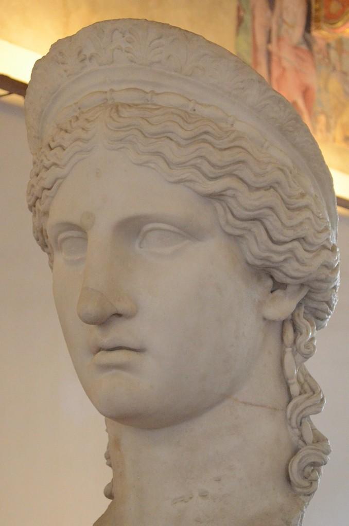 Iuno Ludovisi - Goethes 'erste Liebschaft' in Rom und Modell klassizistischer Schönheit (Palazzo Altemps)