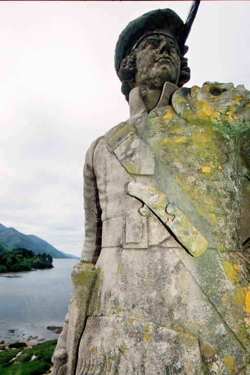 Glennfinnan-Monument für Bonnie Prince Charlie