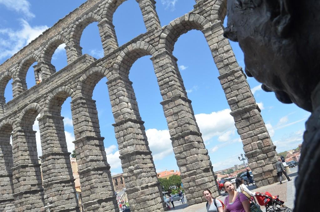 Segovia, Römischer Aquädukt (erbaut wohl unter Kaiser Trajan, 98-117 n.Chr.)