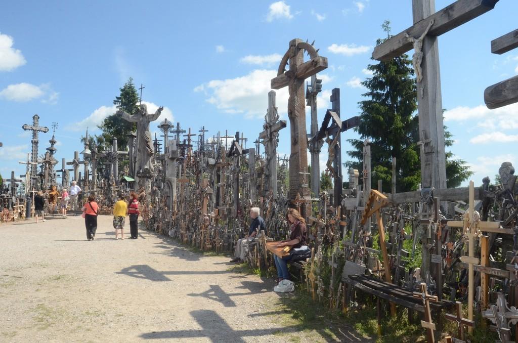 Berg der Kreuze bei Šiauliai/Schaulen