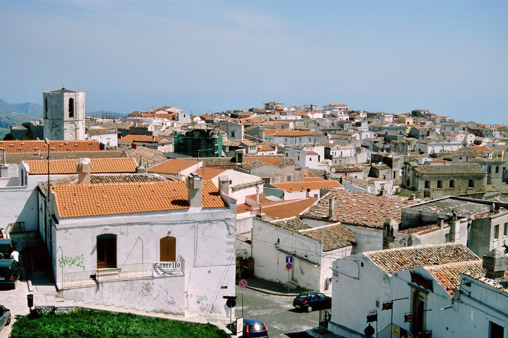 Monte S. Angelo, Blick vom Kastell aus