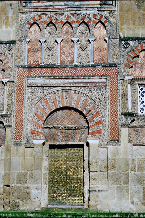 Córdoba, Westfassade der Mezquita, Puerta de San Ildefonso