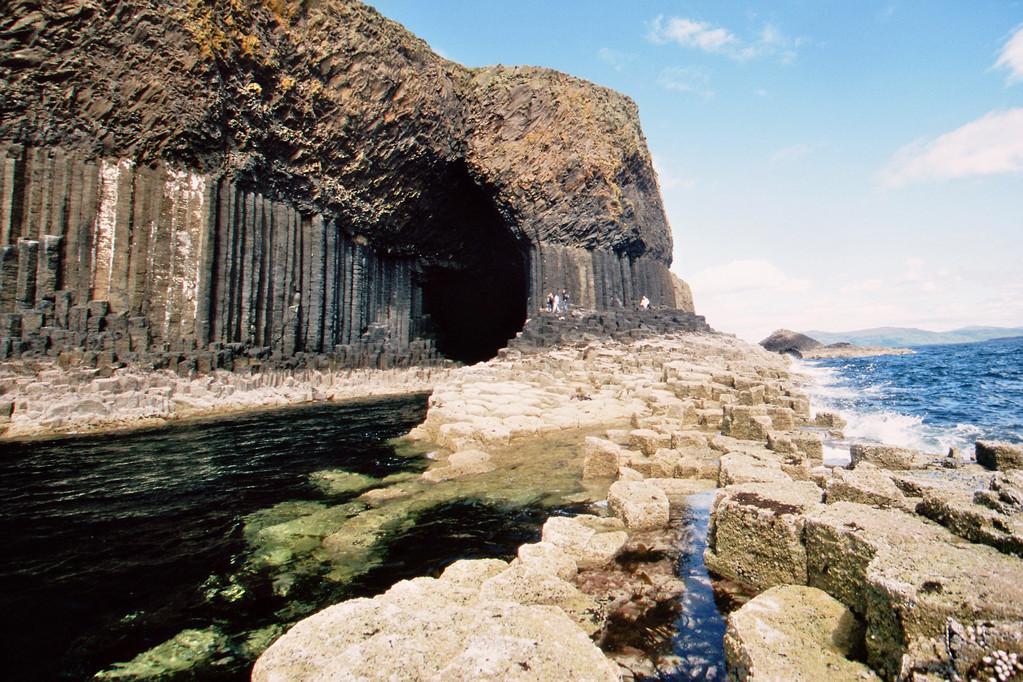 Staffa, Fingal's Cave und Ostseite
