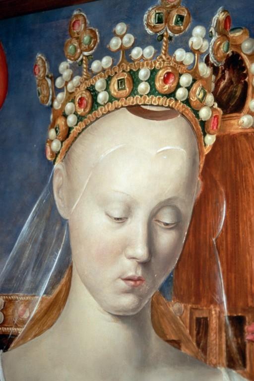 Jean Fouquet (ca. 1420-1480), Agnès Sorel als Maria