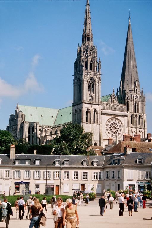 Chartres, Westfassade der Kathedrale