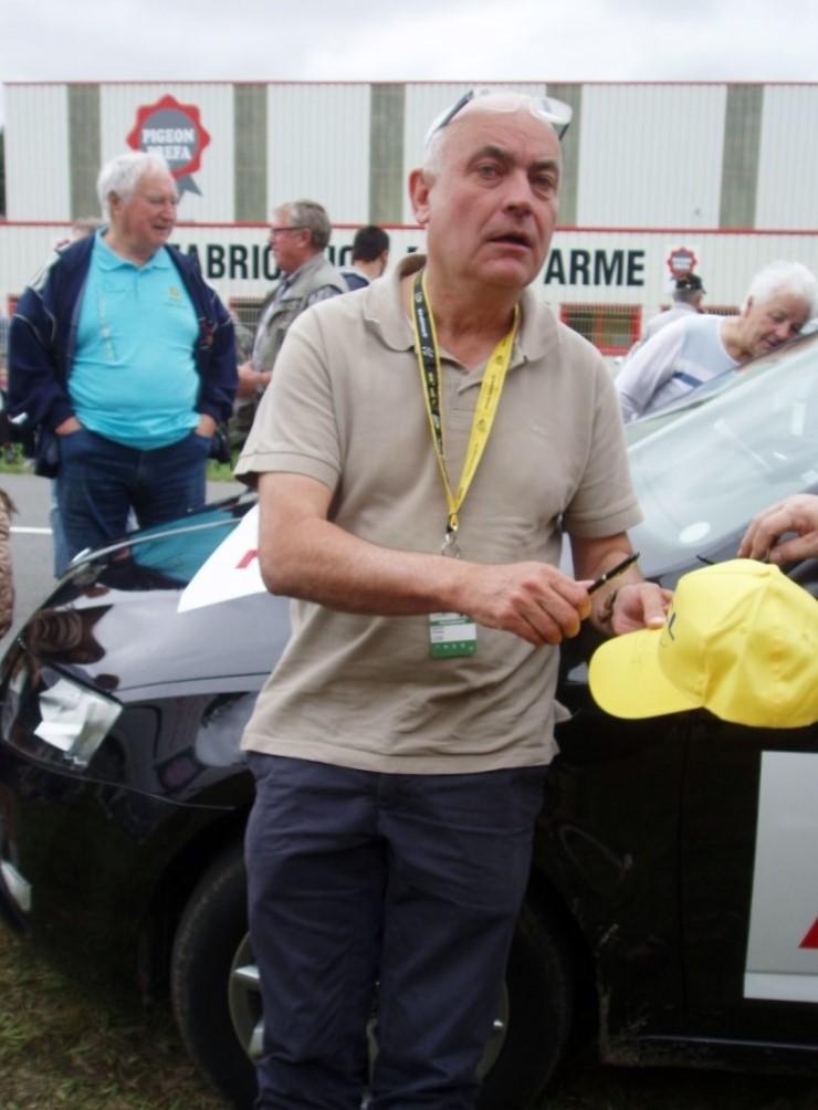 Philippe BOUVET Directeur de la Rédaction cyclisme à L'Équipe
