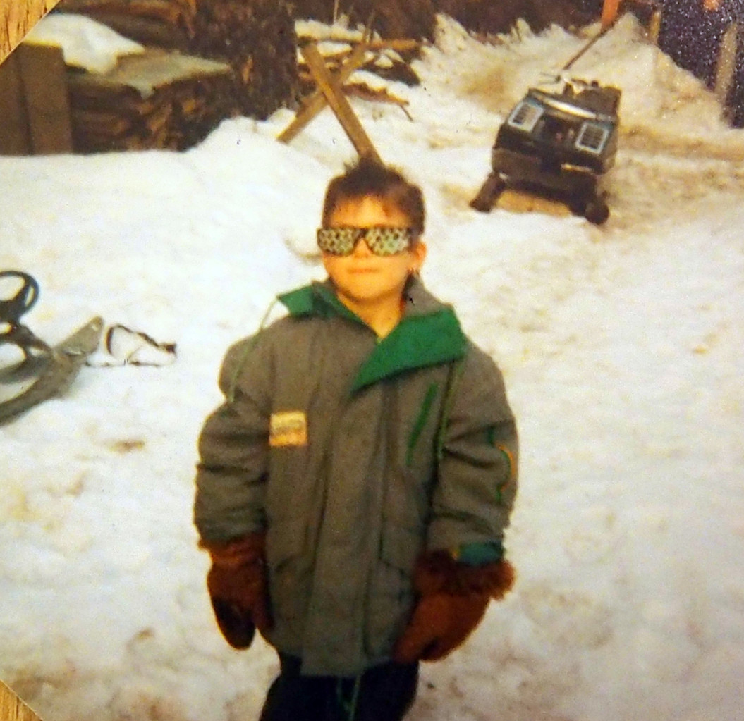 Mit 6 Jahren in Österreich mit der coolsten Sonnenbrille ever