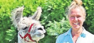 Lübecker Nachrichten: Lamasté - Mit dem Lama durch die Stecknitz-Region