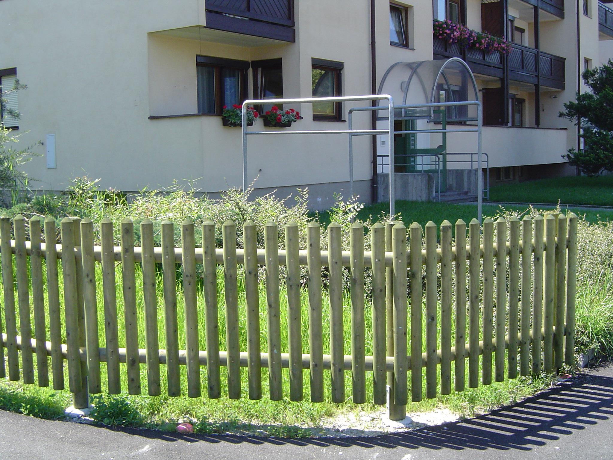 staketenzaun - johann gründler kg, zaun-, rundholz- und imprägnierwerk