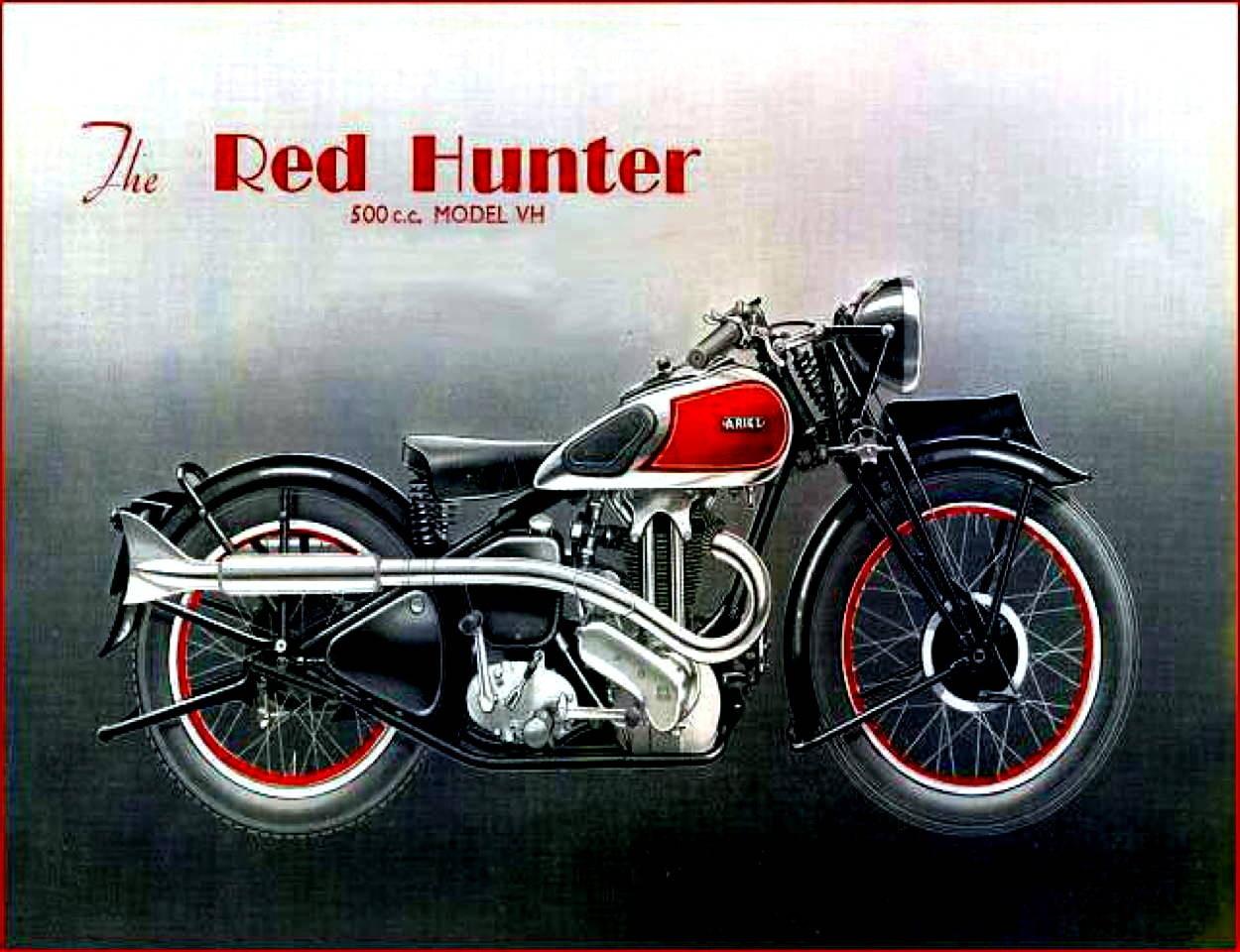 Ariel Historie - Klassische Motorräder -Oldtimer-  BMW-BSA-Triumph-Norton-Vorkrieg