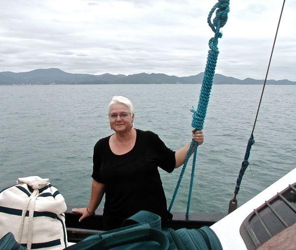 ...und auf dem Schiff