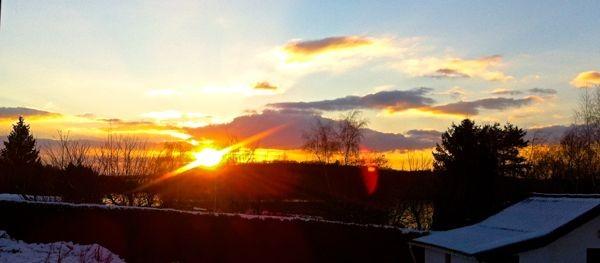 auch heute Abend wieder ein wunderschöner Sonnenuntergang...