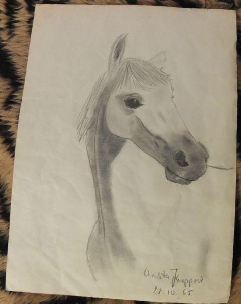 frühes Werk aus dem Jahr 1965 Bleistift