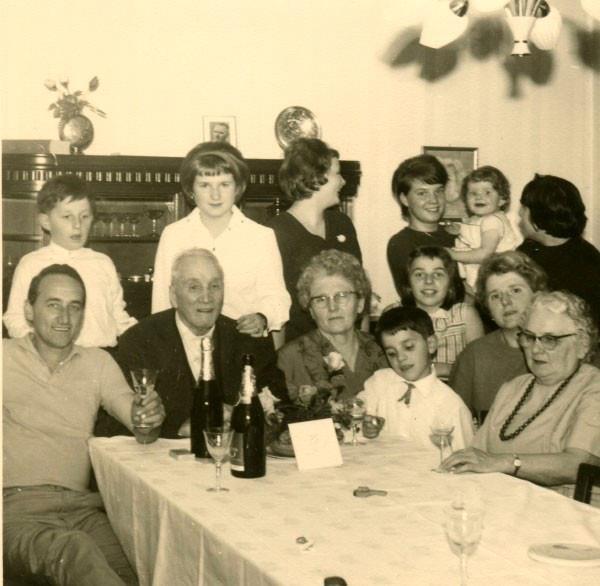 bei Oma und Opa in Neunkirchen - Geburtstag