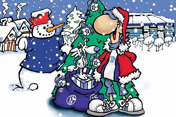 Schalke Bilder Weihnachten.Frohe Weihnachten Fanclub Asbeck Auf Schalke E V