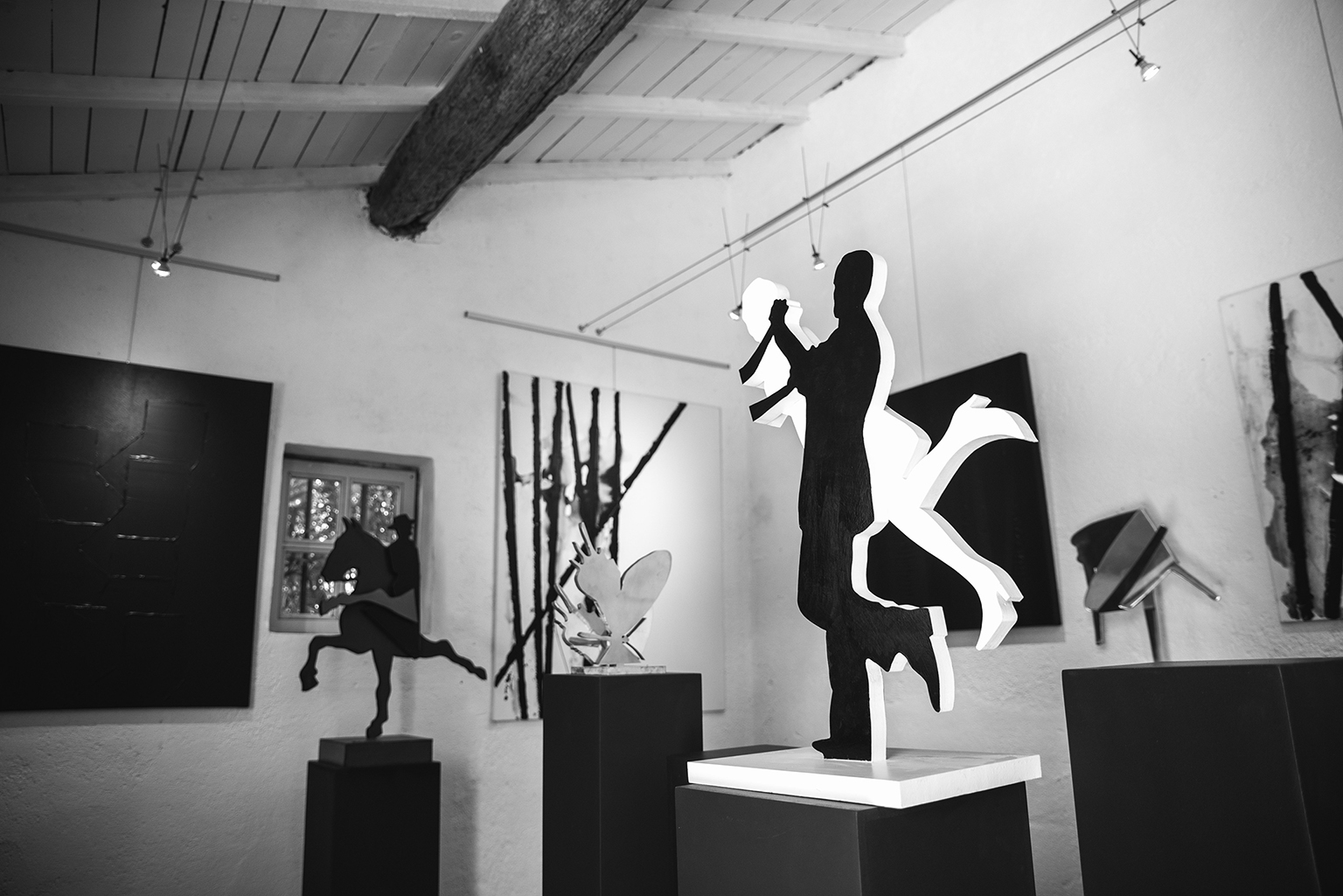 Les sculptures de Klaus Meister