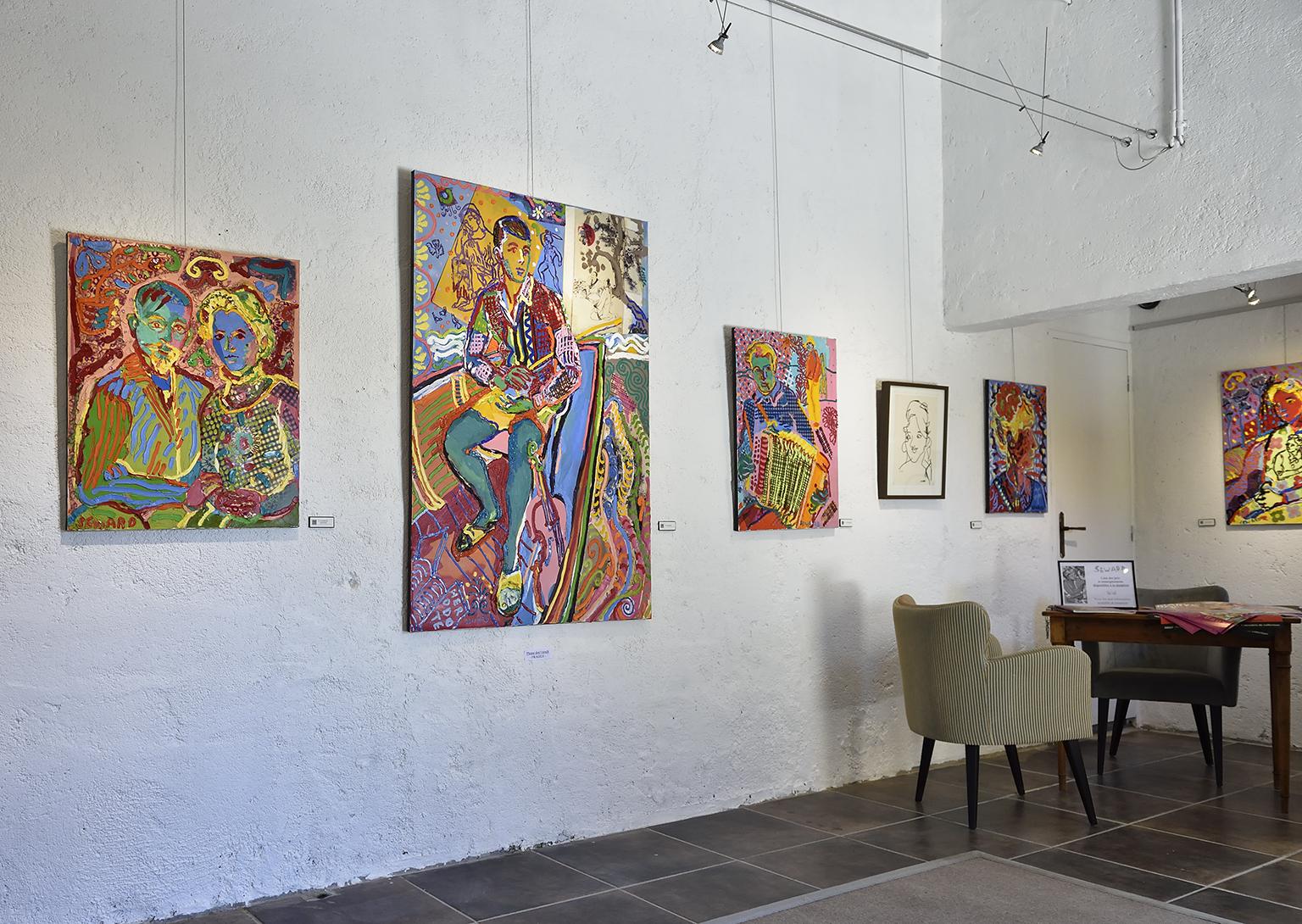 Les peintures de Gordon Seward