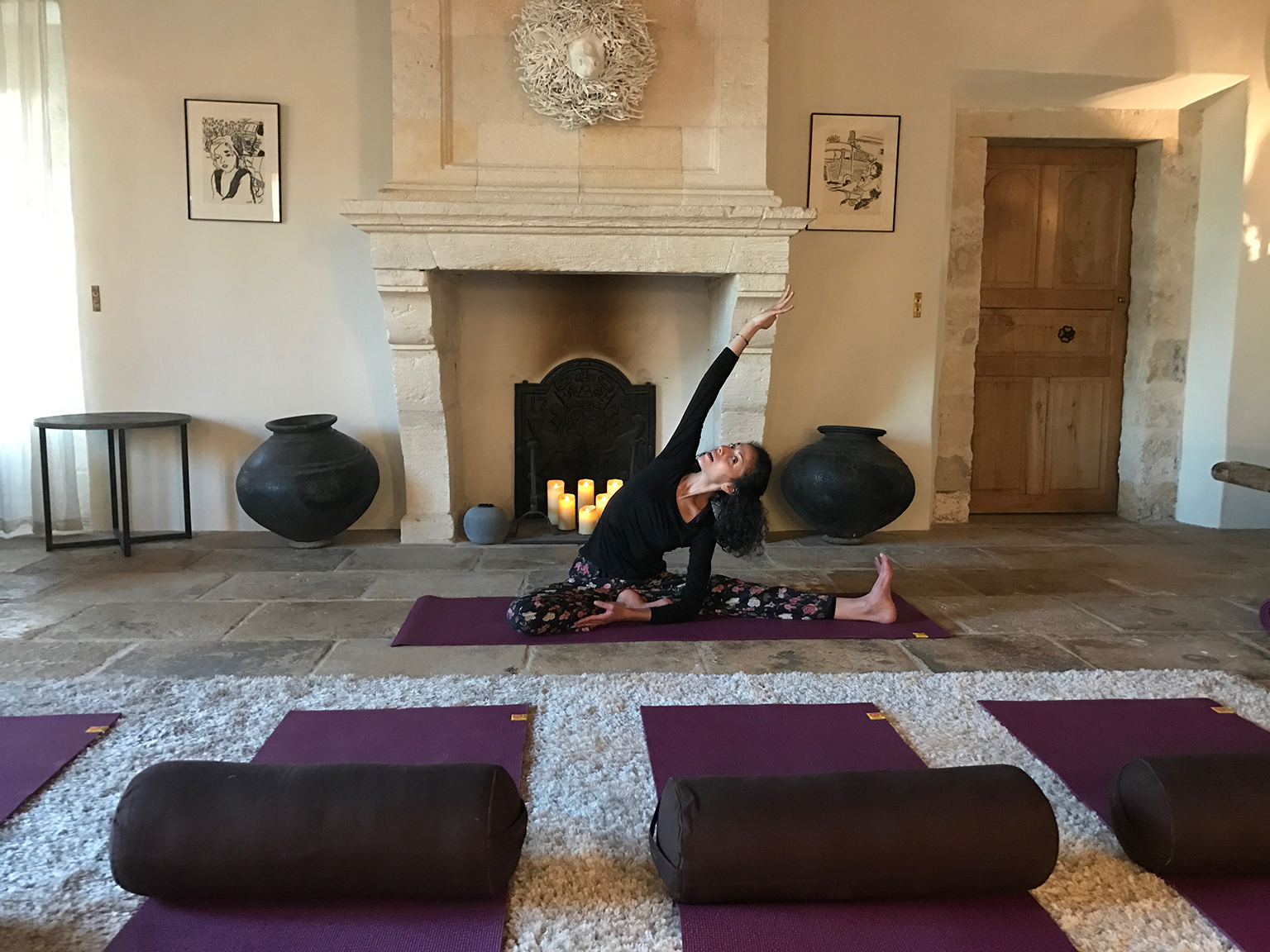 Séance de yoga au grand air avec Tatiana Burstein