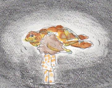 夢スケッチ:ウミガメ