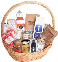 präsentkorb maritim, geschenkekorb, firmengeschenke