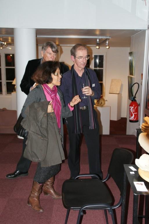 Doris Perret, Jean Yves Pétillon et Thierry Rosier