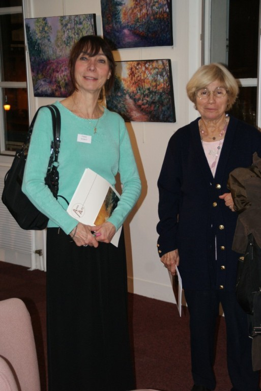 Chantal Weirey et Michèle Vernet