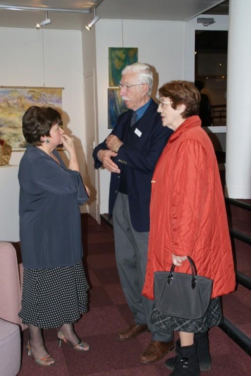 Jacqueline Bourgoin, Nicole Germain et René Hoch