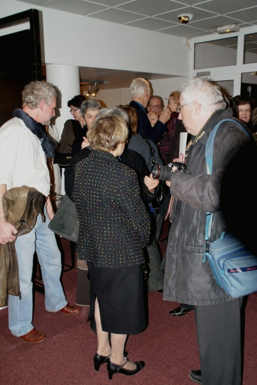 Madeleine Baumann, Monsieur Hup et Richard Pringarbe (de dos)
