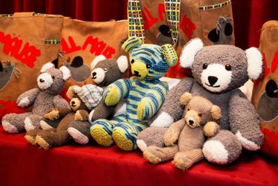 Teddybären gestrickt