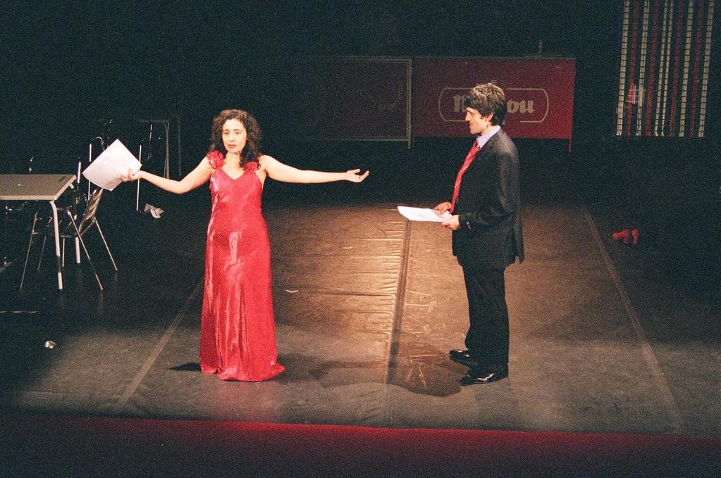 """""""Trevelez. Me Muero de Amor"""". Dirección Ester Ríos. Teatro Rabúo. 2006"""