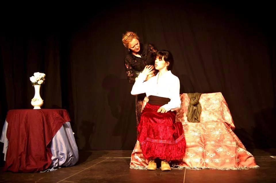 """Muestra Fin de Curso 2013-2014. Interpretación. """"Tío Vania"""" de Chejov."""