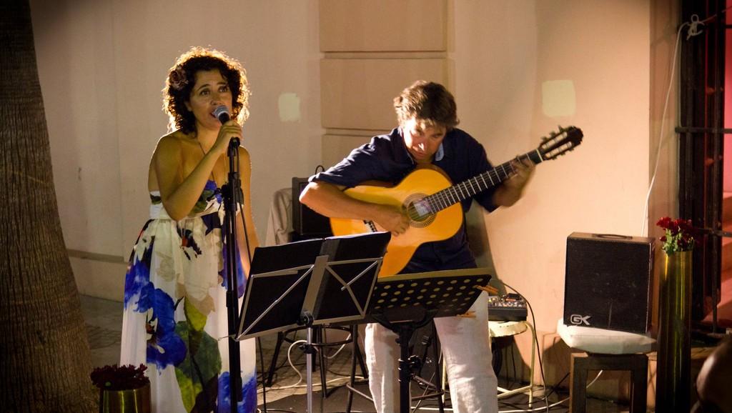 Concierto con Nono García. La Canela. Cádiz. 2011