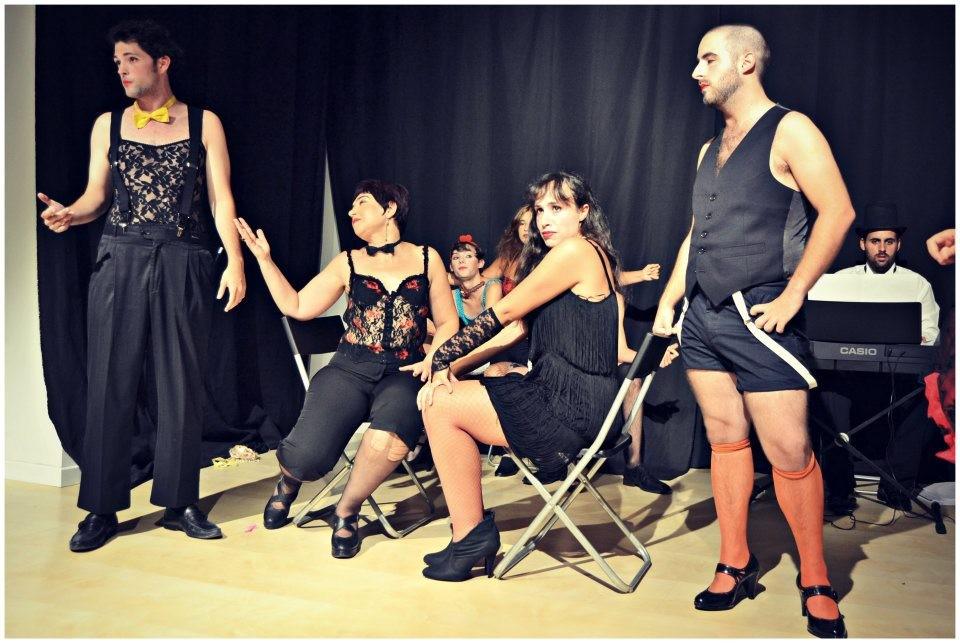 """Muestra Taller Teatro Musical """"Cabaret"""". 2012"""