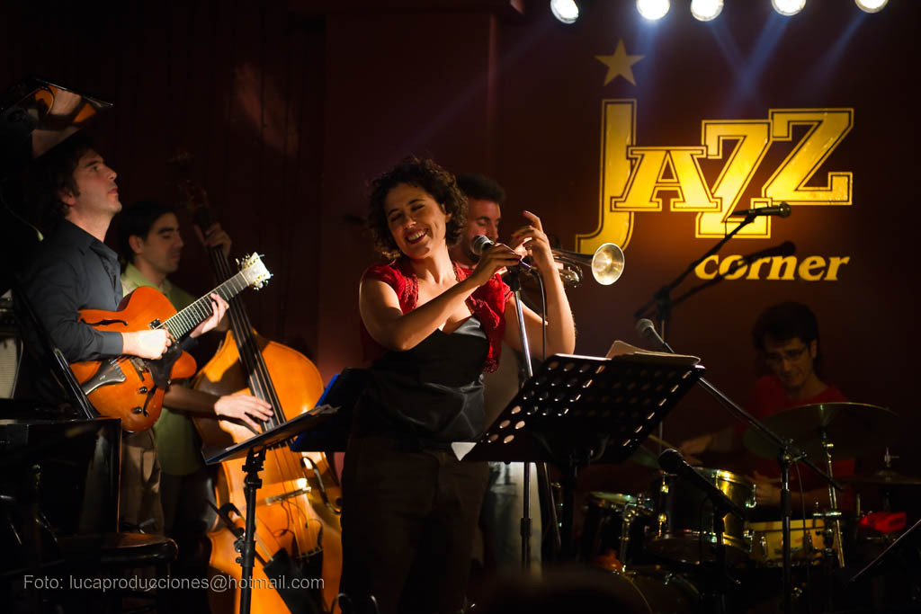 Cordelia. Jazz Corner. Sevilla. 2010.