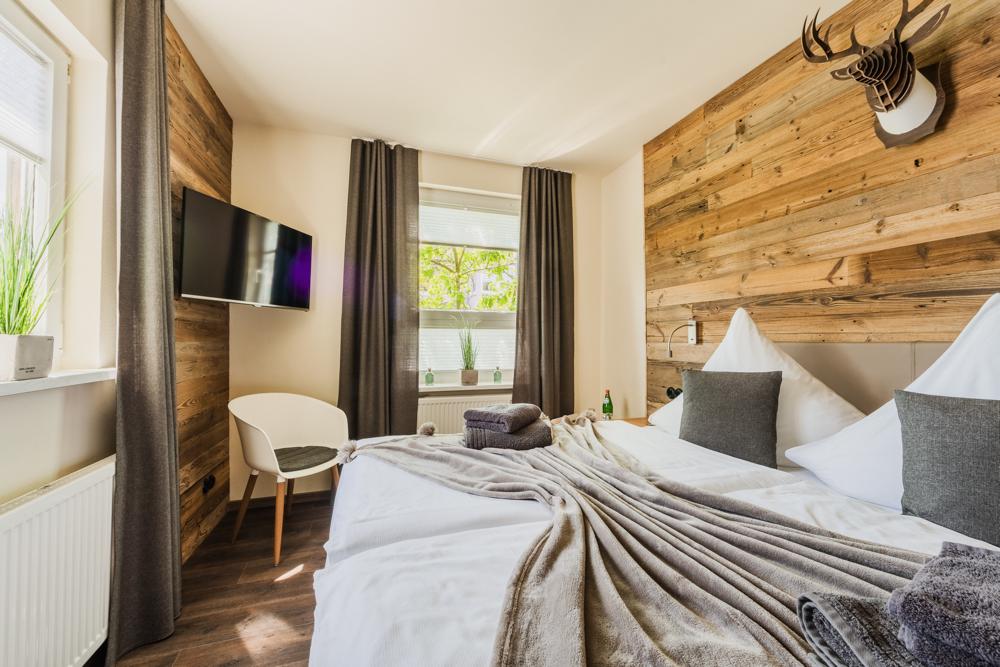 Ferienwohnung Schlafzimmer 1