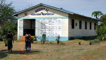 Das kleine Hospital in Msumarini