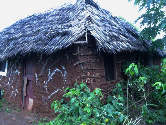LehmHütte in Msumarini/Kenya