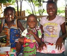 Unsere Kinder im Schulungsprogramm *Moyo Wangu*