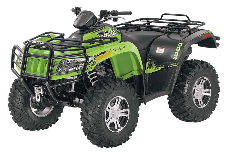 Arctic Cat ATVs service repair manuals free download PDF