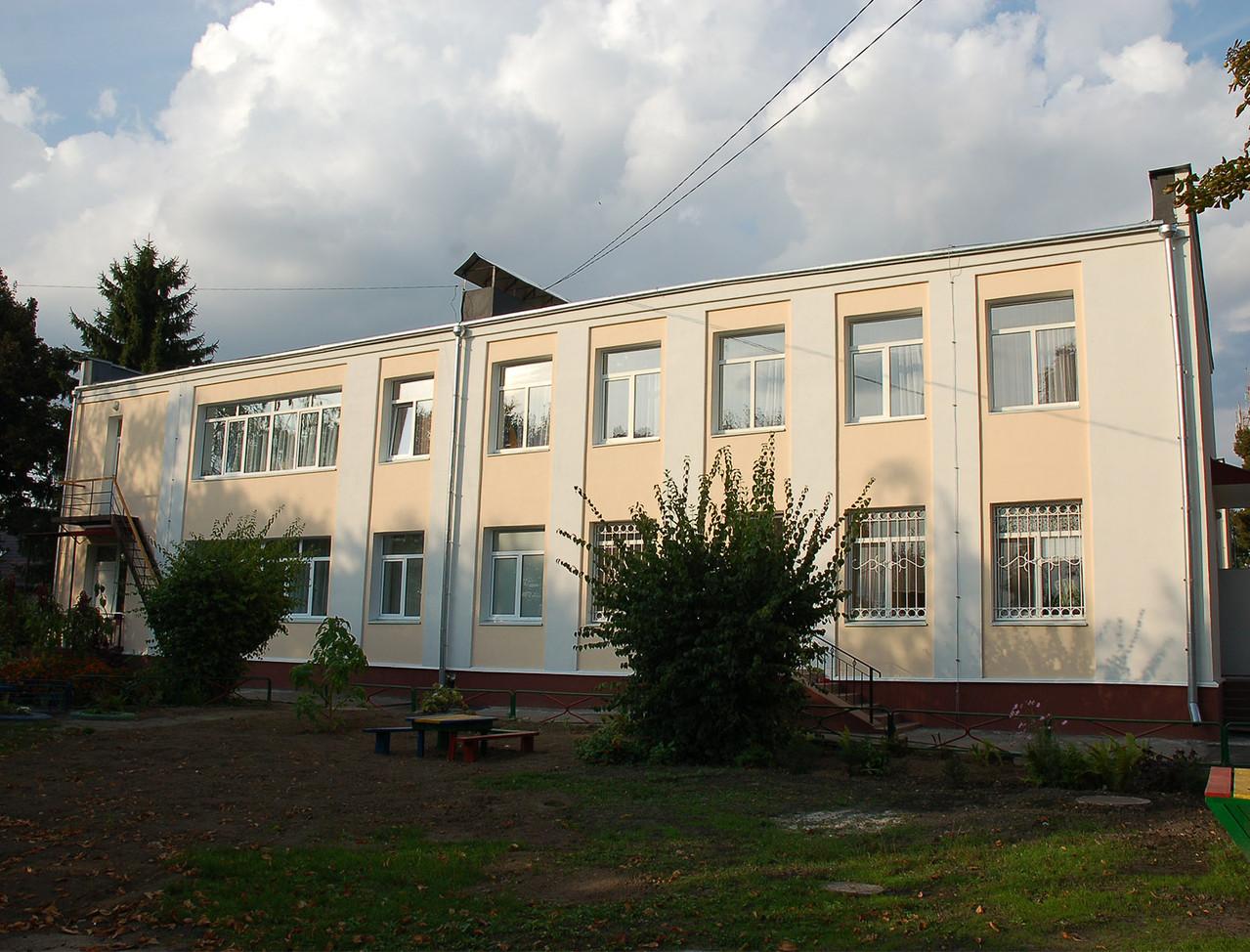 Капітальний ремонт дошкільного навчального закладу №3 в м. Бориспіль по вул. Гришинська, 1