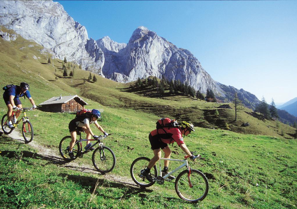 Mountainbiken im Tennengau