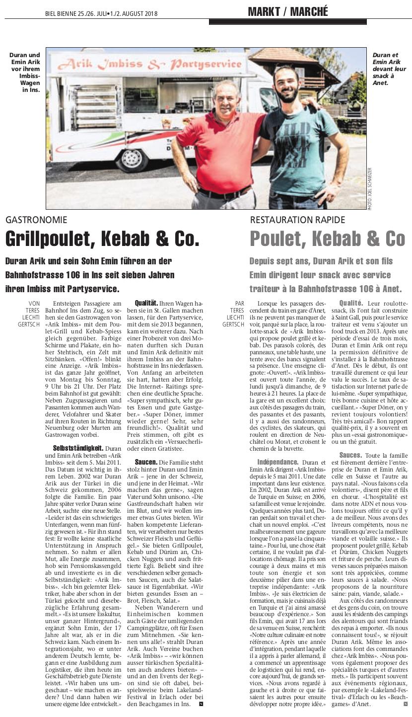 Im 2015 am Klarinettentag und im 2018 im Biel/Bienne