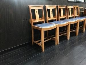 チャーチチェア 教会イス 椅子 チェア パイン 板座 栃木 鹿沼 家具 CFS-770 ルームエッセンス